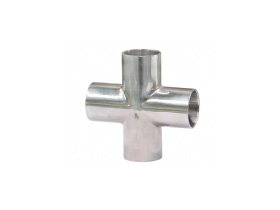 stainless steel cross tee fitting